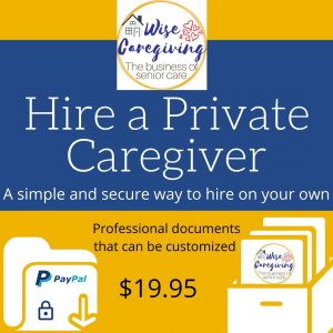 hire a private caregiver kit