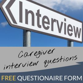Caregiver Interview Questions Template