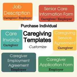 Individual caregiving templates