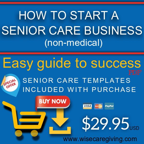 how to start a senior care business ebook