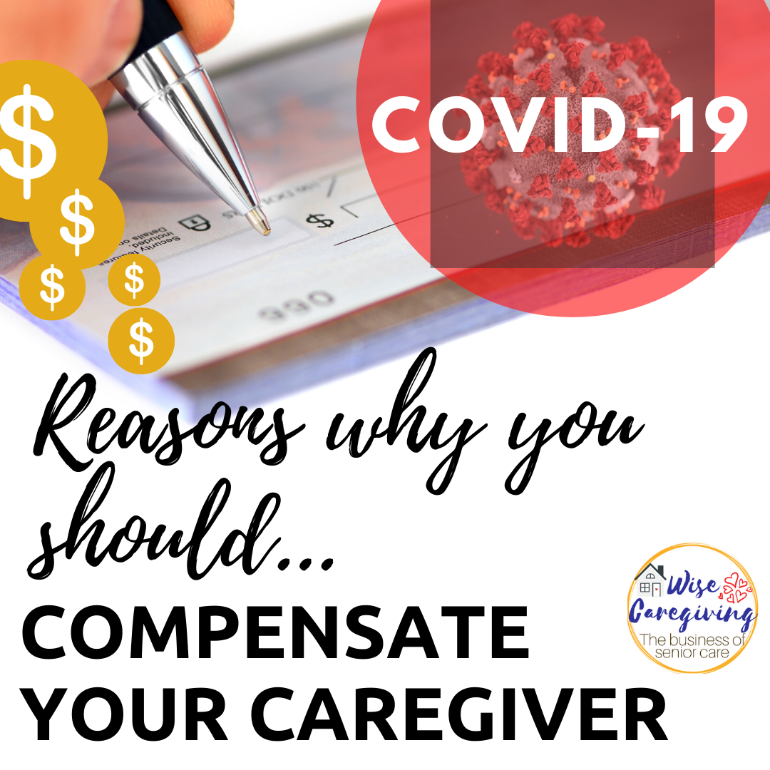 compensate caregiver
