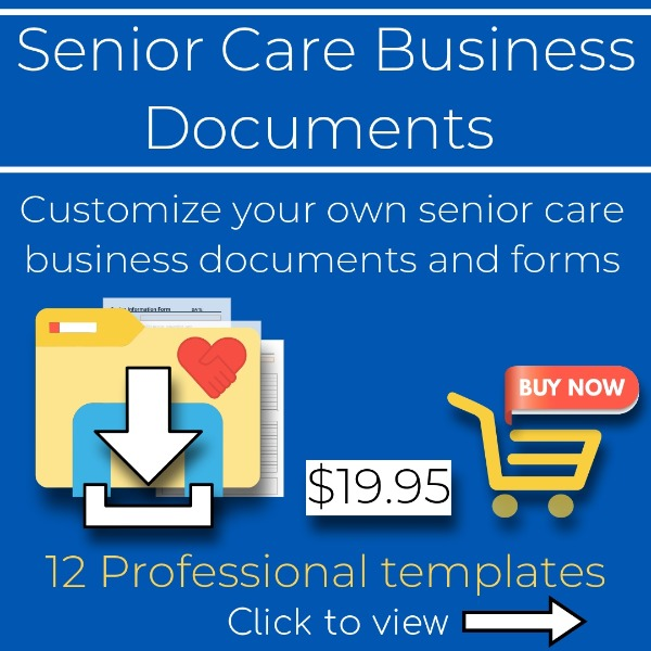 senior care business documents
