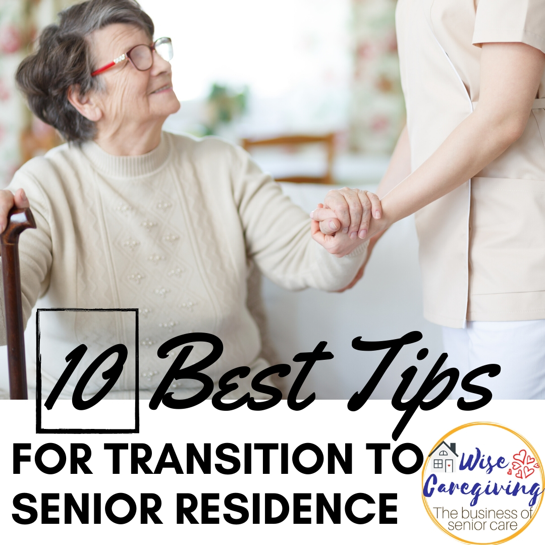 transition to senior residence