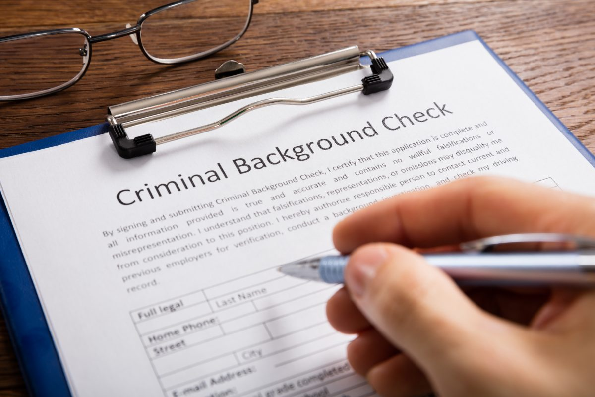 Driving Record Background Check