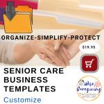 senior care business templates