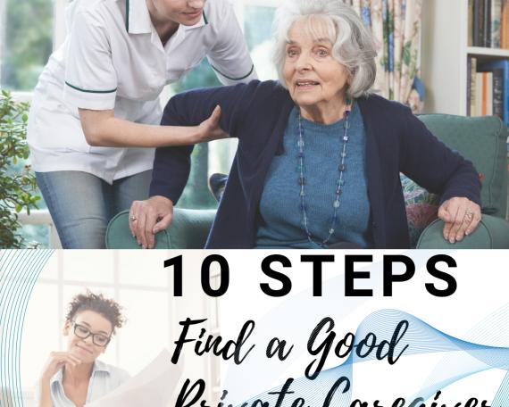 10 steps find a good caregiver