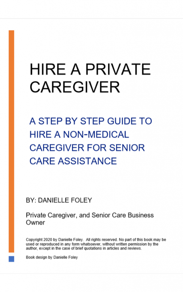Hire a Private Caregiver title page
