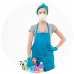 Private caregiver services-housekeeping