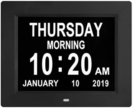 digital clock for seniors