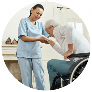 private caregiver services-assistance with mobility