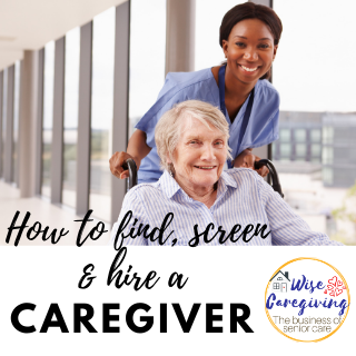 How to find a caregiver-wise caregiving