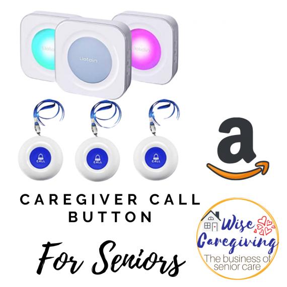 wireless caregiver call button