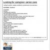 Sample Caregiver Job Post-preview
