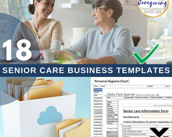 senior care business templates-download-wise caregiving