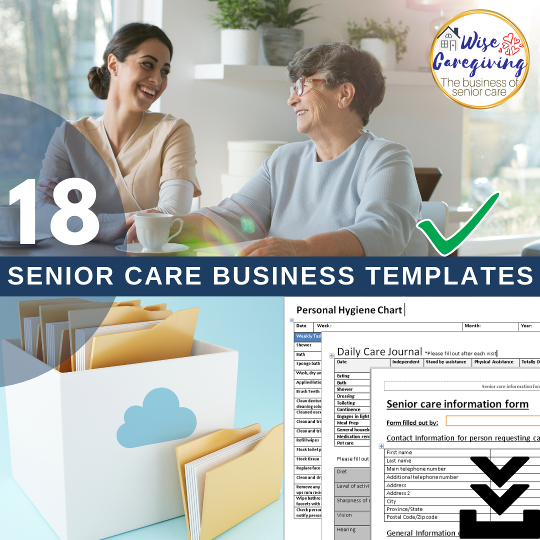 Just need the caregiving templates?