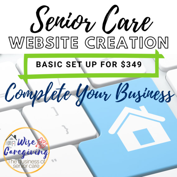 Create your senior care website