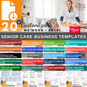 Senior Care Business Temlates-Feature-Wise Caregiving