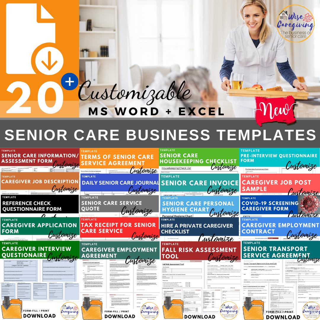 Senior Care Business Temlates-Feature-Wise Caregiving
