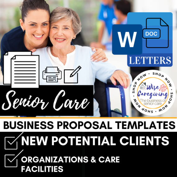 Business Proposal Letter Template-senior care