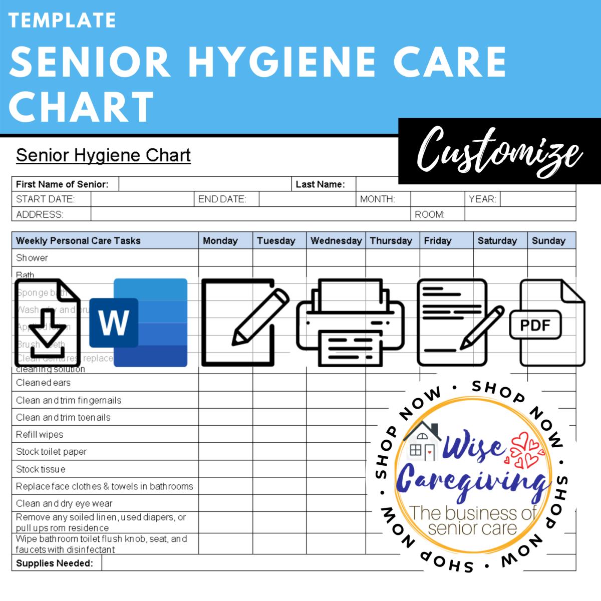 senior hygiene care chart template-wise caregiving (4)