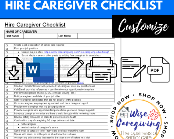 hire caregiver checklist template-wise caregiving (1)