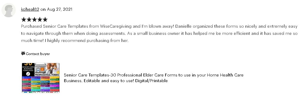 wise caregiving review-aug 27